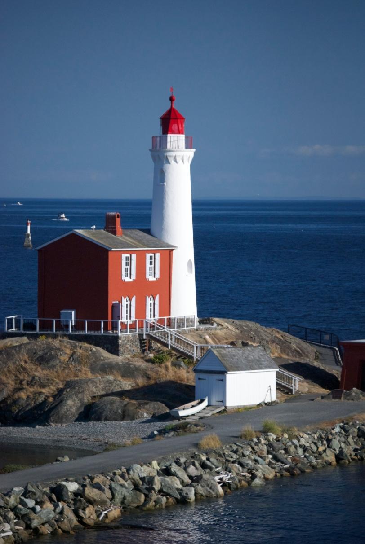 Fisgard Lighthouse on Vancouver Island